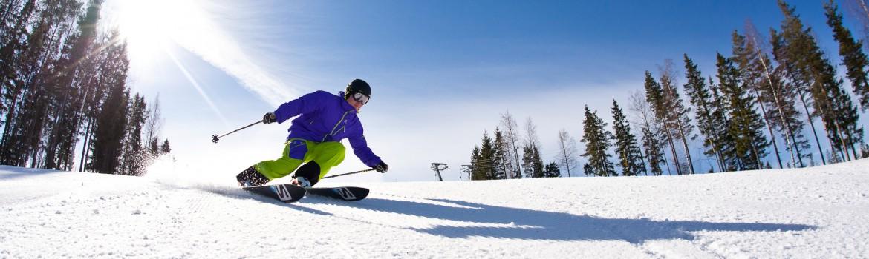 Ski slops in Sappee