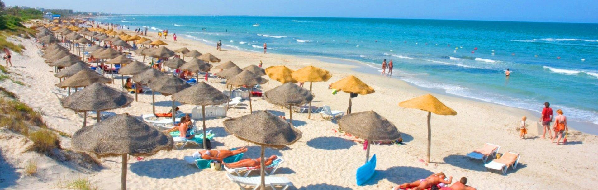 Пляж отеля El Muradi, Махдия