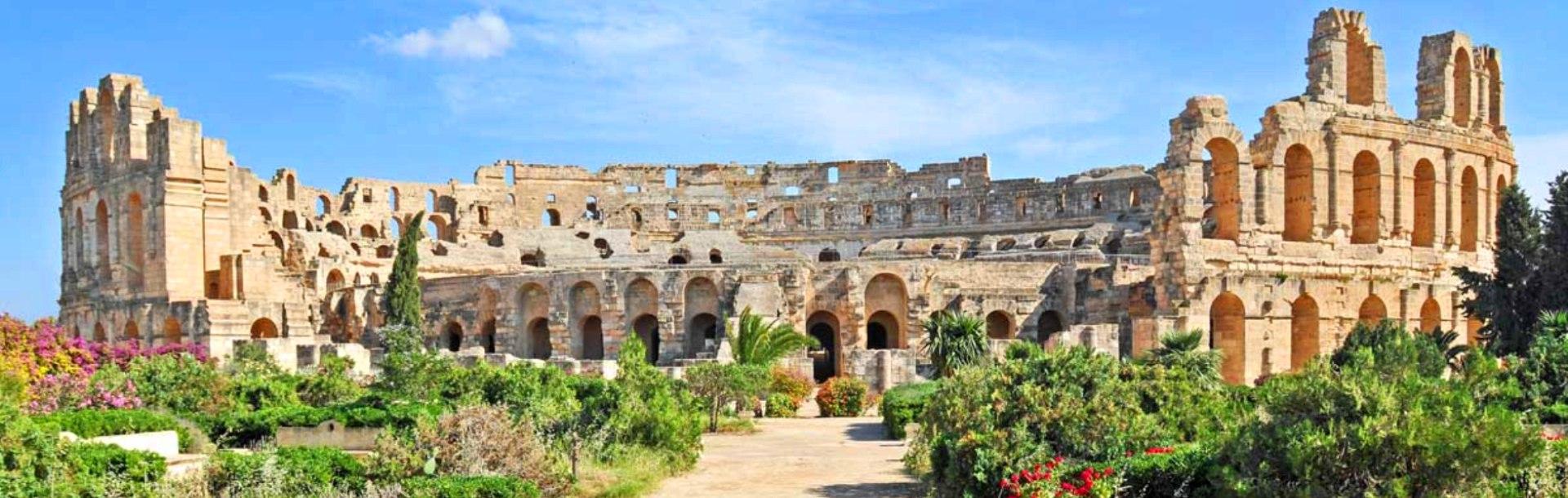 Римский Амфитеатр, Тунис